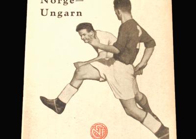 Norway v Hungary 08.05.1955 (5 - 0)