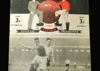 Charlton v Man Utd 09.10.1948