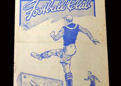 Charlton v Burnley 08.01.1949 (FA Cup 3rd Round)