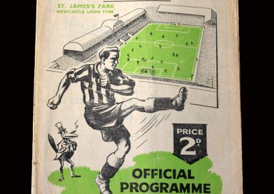 Charlton v Newcastle 05.02.1949