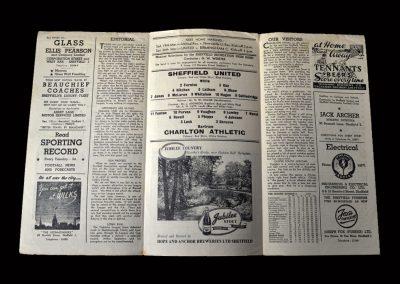Charlton v Sheff Utd 12.03.1949