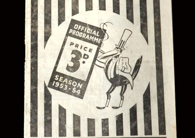 Newcastle v Middlesbrough 26.12.1953 (scores on his debut for Boro but doesnt stay long)