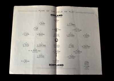 England v Scotland 27.03.1954 (Amateur International)
