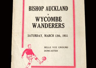 Bishop Auckland v Wycombe 12.03.1955 (FA Amateur Cup Semi Final)