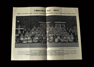 Chelsea v Bolton 20.08.1955 (Champions Souvenir)