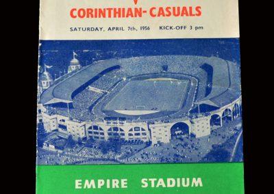Bishop Auckland v Corinthian Casuals 07.04.1956 (FA Amateur Cup Final)
