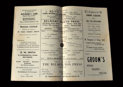 Erith v Crook 24.01.1959 (FA Amateur Cup 2nd Round)