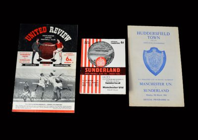 Man Utd v Sunderland 29.02.1964 / 04.03.1964 / 09.03.1964 (Epic FA Cup 6th Round)