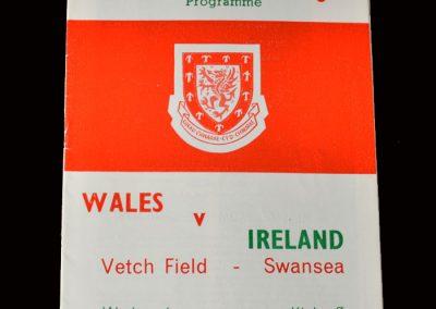 Wales v Northern Ireland 15.04.1964 (International Debut)