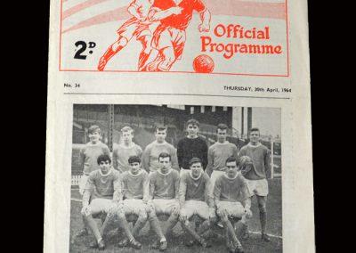 Man Utd v Swindon 30.04.1964 (FA Youth Cup 2nd Round)