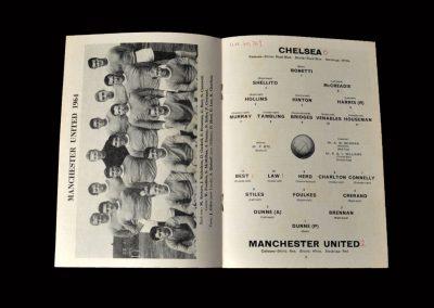 Chelsea v Man Utd 30.09.1964