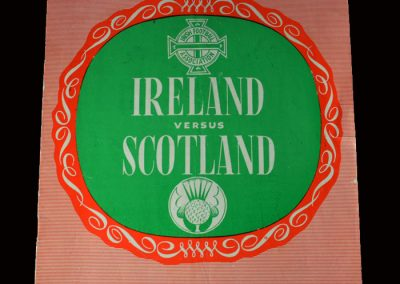 Northern Ireland v Scotland 21.10.1967