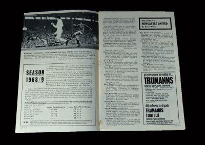 Man Utd v Newcastle 04.05.1968