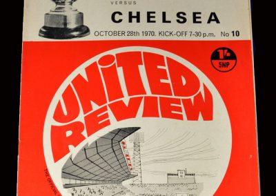 Man Utd v Chelsea 28.10.1970