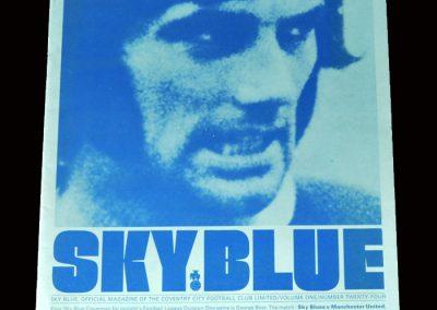 Coventry v Man Utd 13.04.1971