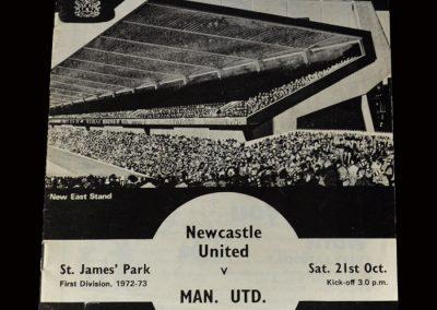 Newcastle v Man Utd 21.10.1972