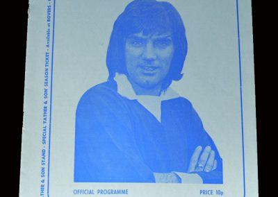 Shamrock Rovers v Man Utd 15.10.1973