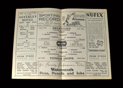Brentford v Spurs 20.03.1948