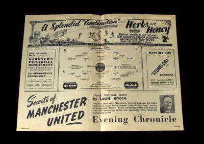 Man Utd v Man City 07.04.1948