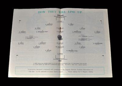 England v Ireland 08.05.1948 (Schools)