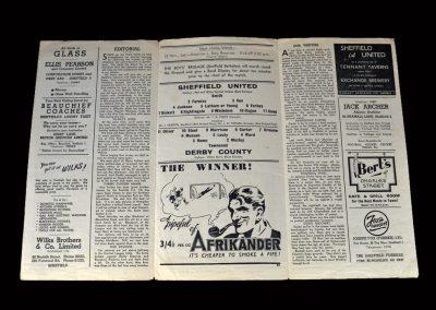 Derby v Sheff Utd 08.11.1947