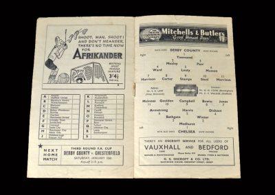 Derby v Chelsea 03.01.1948