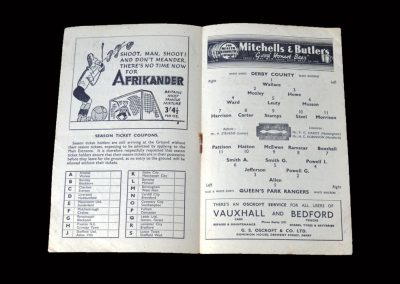 Derby v QPR 06.03.1948 (FA Cup 6th Round Replay)