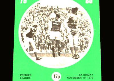 Hibs v Kilmarnock 10.11.1979 (possible signing)