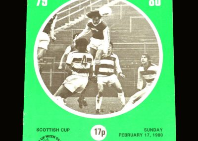 Hibs v Ayr United 17.02.1980 - Scottish Cup 4th Round (Best banned for this game)