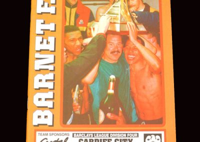 Barnet v Cardiff 28.09.1991