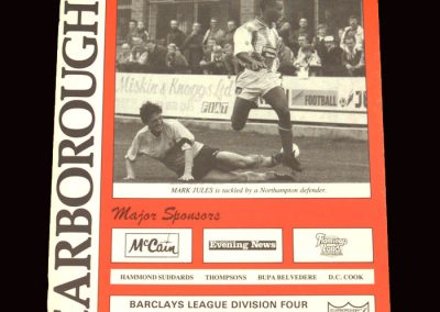 Barnet v Scarborough 26.10.1991