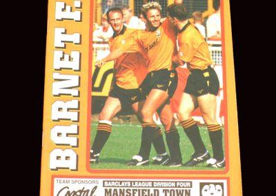 Barnet v Mansfield 21.12.1991