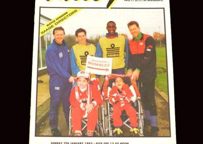 Barnet v Charlton 05.01.1992 - FA Cup 3rd Round (@ Upton Park)