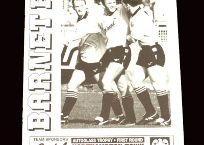 Barnet v Northampton 14.01.1992 - FA Trophy 3rd Round