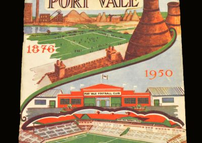 The Story of Port Vale 1876 - 1950 - Souvenir for new ground opening
