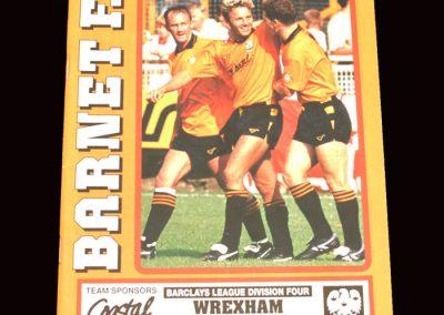 Barnet v Wrexham 14.03.1992