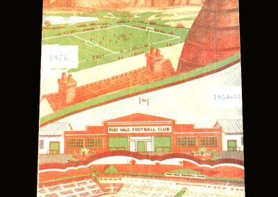 Port Vale v Swansea 06.09.1954
