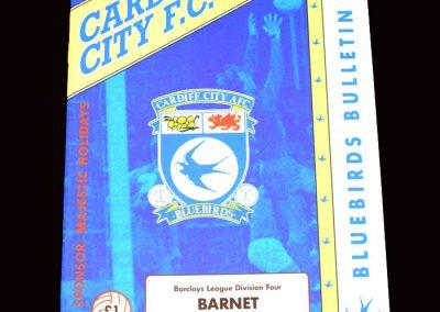 Barnet v Cardiff 20.04.1992