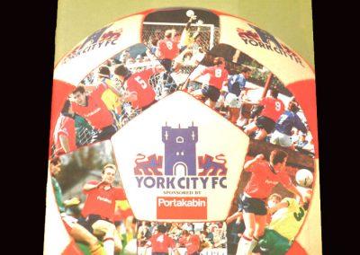 Barnet v York 02.05.1992