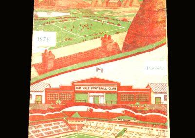 Port Vale v Leeds 06.11.1954