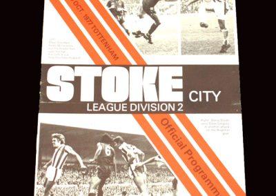 Spurs v Stoke 29.10.1977