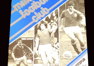 Spurs v Millwall 26.12.1977