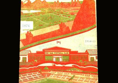 Port Vale v Notts Forest 19.03.1955