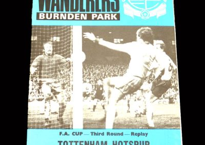 Spurs v Bolton 10.01.1978 - FA Cup 3rd Round Replay