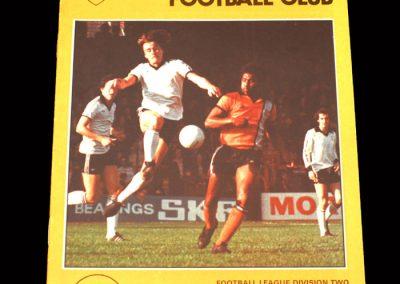 Spurs v Fulham 04.02.1978