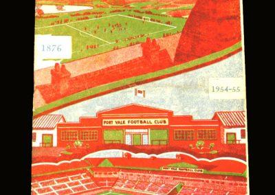 Port Vale v Rotherham 30.04.1955