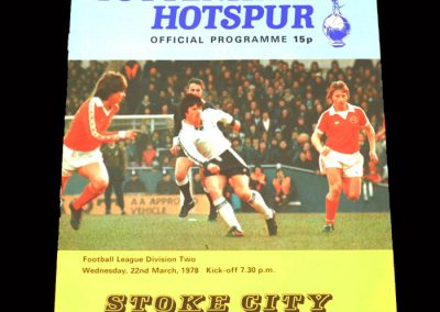 Spurs v Stoke 22.03.1978