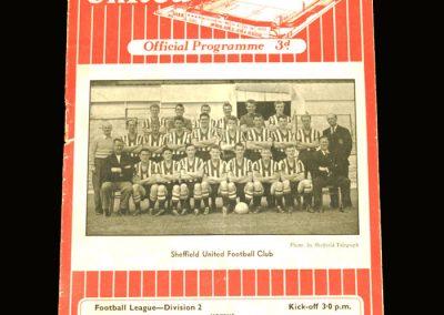 Notts County v Sheffield Utd 24.08.1957