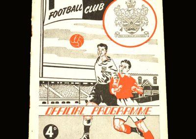 Notts County v Fulham 04.09.1957