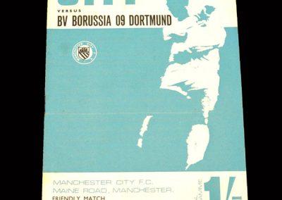 Man City v Borussia Dortmund 11.08.1967 (Friendly)